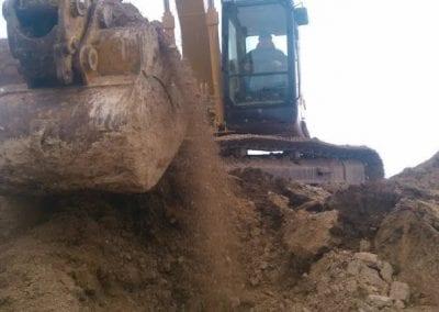 Dump Loader Excavating
