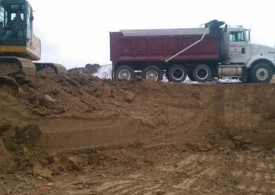 Pit Being dug