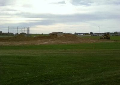 Excavating Land