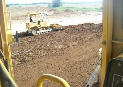 Bulldozing